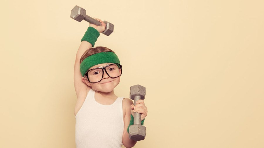Is strength training at a young age bad for them?
